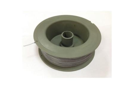 Пломбировочная проволока витая (нержавеющая сталь/нейлон) 0,8 мм 100м