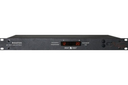 Импульсный источник питания постоянного тока MP SKAT-12DC-20 RACK