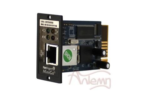 SNMP-модуль DL 801 для мониторинга и управления ИБП в компьютерной сети