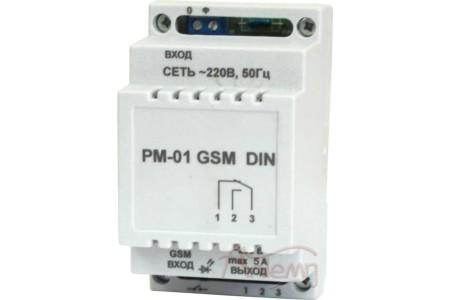 Реле промежуточное РМ-01 GSM DIN
