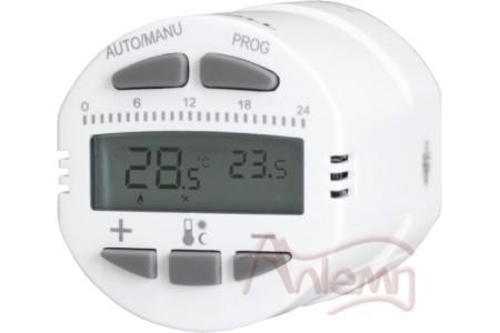 Радиаторный программируемый термостат TEPLOCOM TS-Prog-R