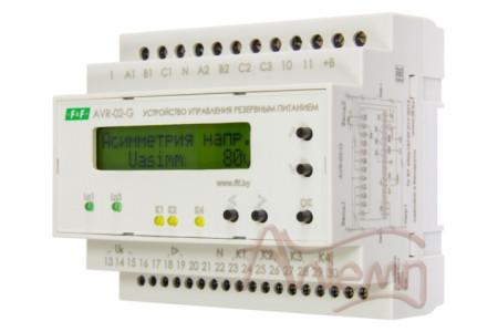 Устройство управления резервным питанием (АВР) AVR-02-G