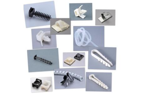 Аксессуары для кабельных стяжек и монтажа проводов