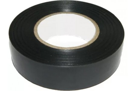 Изолента ПВХ 15х0.15х10 черная FORTISFLEX