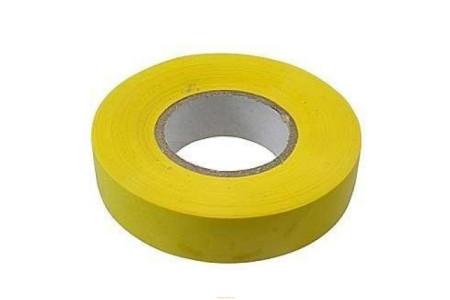 Изолента ПВХ 15х0.15х10 желтая FORTISFLEX