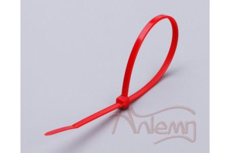Кабельные стяжки нейлоновые КСС 3*100 (кр) FORTISFLEX красные