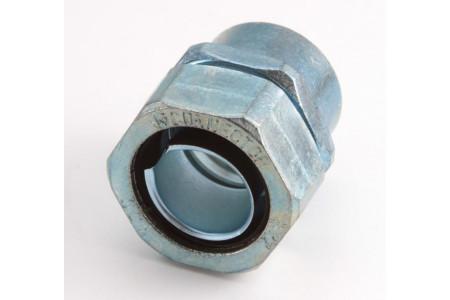 Муфта соединительная труба-металлорукав резьбовая СТМ(Р)-15(1/2'') FORTISFLEX