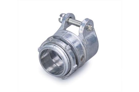 """Муфта вводная для металлорукава и трубы с хомутом ВТ(Х)-15(1/2"""") FORTISFLEX"""