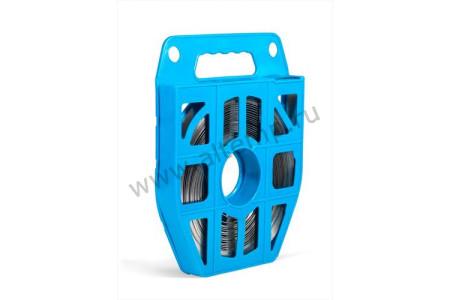 Лента крепежная в пластиковой кассете из нержавеющей стали AISI 304, ЛКС (304)-2007  (25м) FORTISFLEX