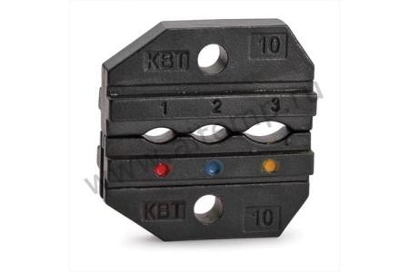Номерные матрицы для опрессовки наконечников, разъемов и гильз в термоусаживаемой изоляции и концевых изолирующих заглушек - МПК-10