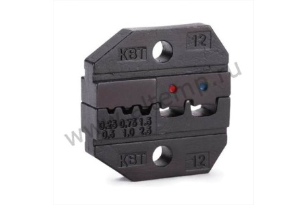 Номерные матрицы для опрессовки изолированных и втулочных наконечников - МПК-12