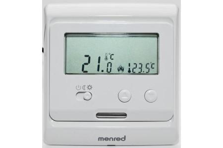 Терморегулятор MENRED Е 31.116 программируемый с датчиком пола и воздуха