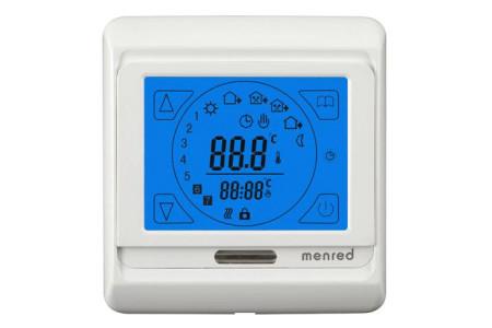 Сенсорный программируемый терморегулятор MENRED Е 91.716