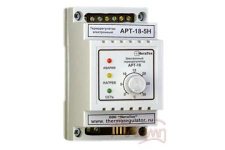 Терморегулятор АРТ-18 (напряжение 220В) с датчиком KTY-81-110, 1-3 кВт, DIN