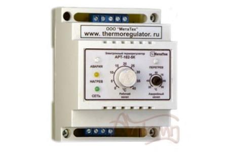 Терморегулятор АРТ-182 (напряжение 220В) с датчиком KTY-81-110, 1-3 кВт, DIN