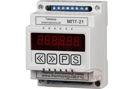 Таймер электронный микропроцессорный двухканальный (реверсивный) МПТ-21