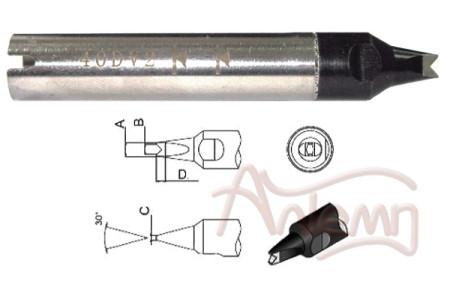 Жало 911G-40DV2 SOLDERING ROBOT TIP
