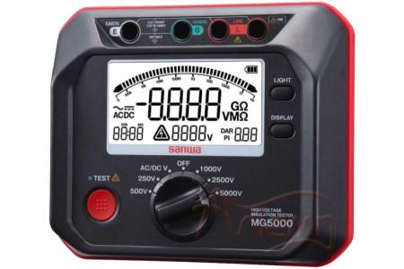 Измеритель сопротивления изоляции Sanwa MG5000