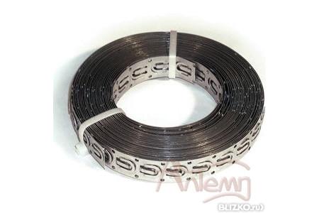 Монтажная лента для нагревательного кабеля, 4м