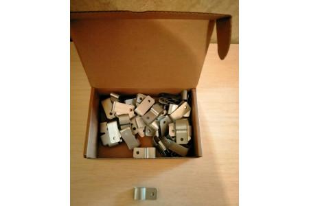 Зажим крепежный ТСР.О1-25 Ц (50шт.)