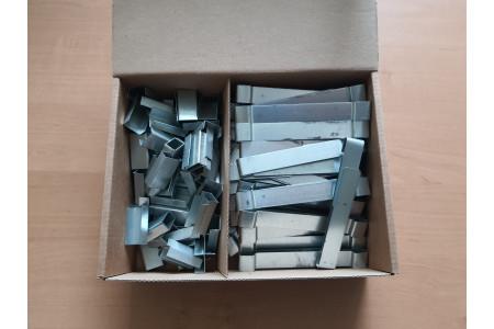 Зажим крепежный ТСР.2-100 Ц (50шт.)