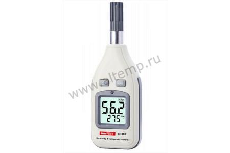 Измеритель температуры и влажности UnionTEST TH302