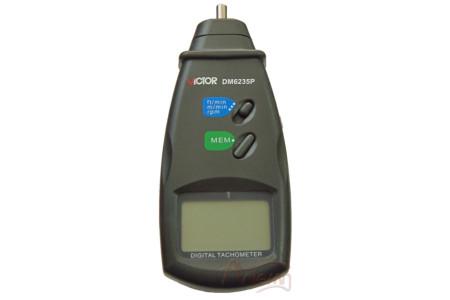 Тахометр Victor DM6235P контактный