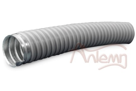Металлорукав в ПВХ изоляции МРПИ НГ 10 (50 м/уп.) серый ЗЭТА